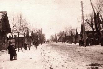 Vom Shtetl Lachwa 1926 ...