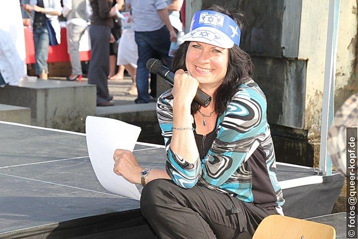 Maya Zehden, Vorstand DIG Berlin und Potsdam