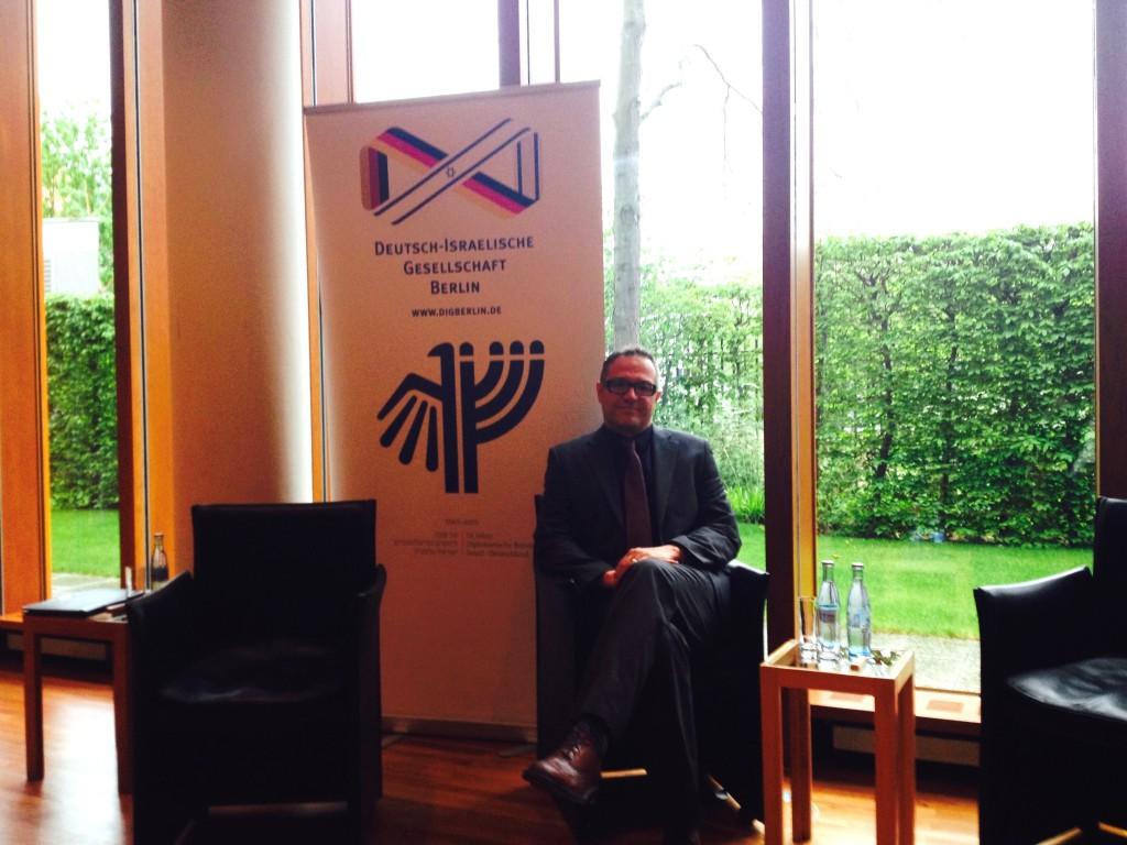 Michael Spaney, Vorstand DIG Berlin und Potsdam
