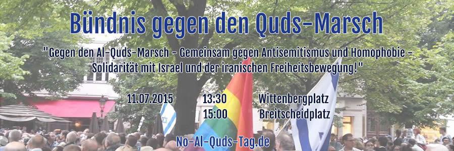 Gegen den Al-Quds-Tag