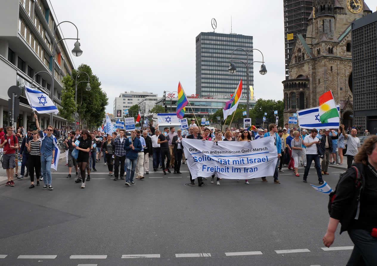 Deutsch-Israelische Gesellschaft gegen den Al-Quds-Marsch