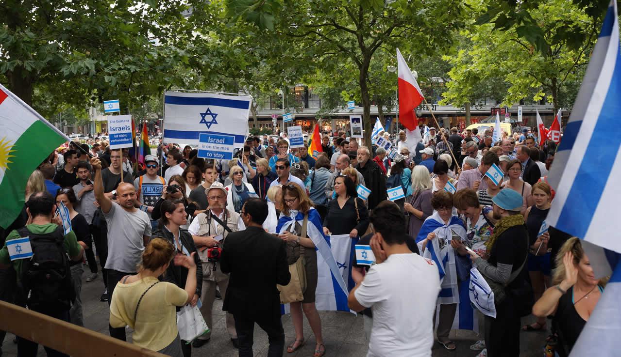 Deutsch-Israelische Gesellschaft Al-Quds-Marsch stoppen