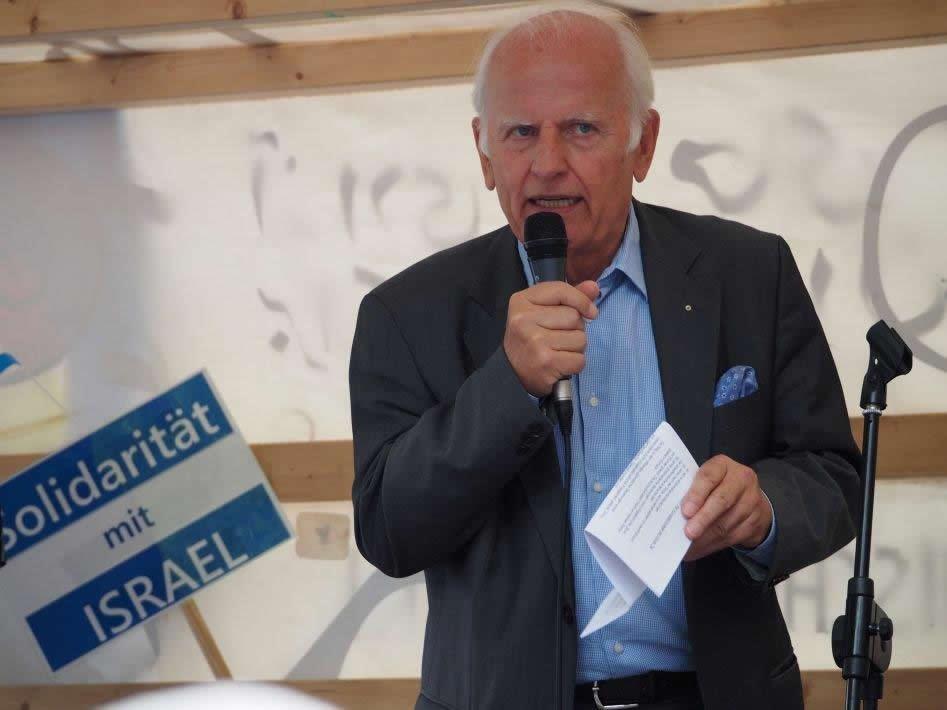 Jochen Feilcke, Vorsitzender DIG Berlin und Potsdam