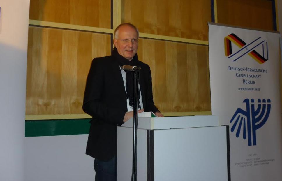 Steffen Reiche, stellv. Vorsitzender der DIG Berlin und Potsdam