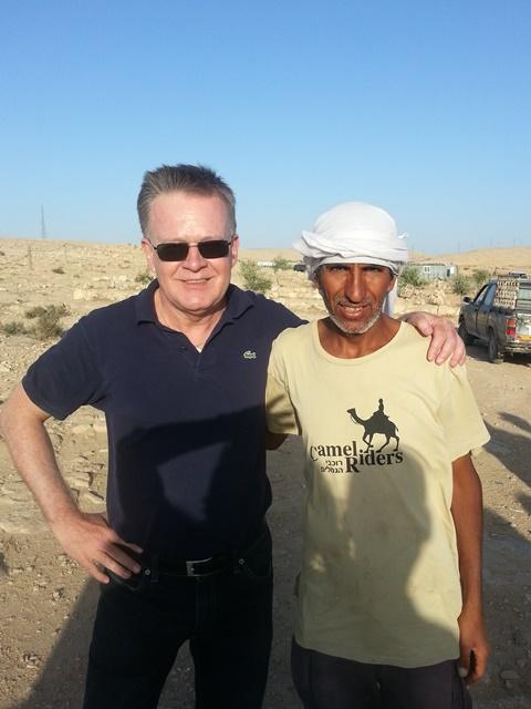 Hubert Schulte-Kellinghaus mit Salman