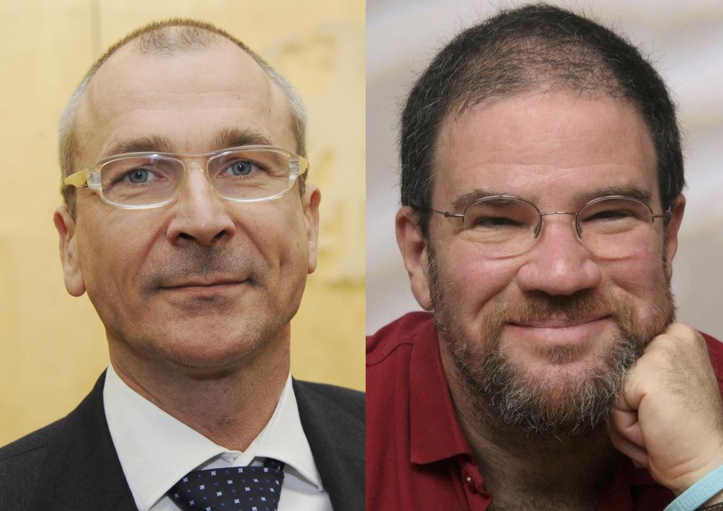 Volker Beck (MdB) und Eldad Beck (Journalist)