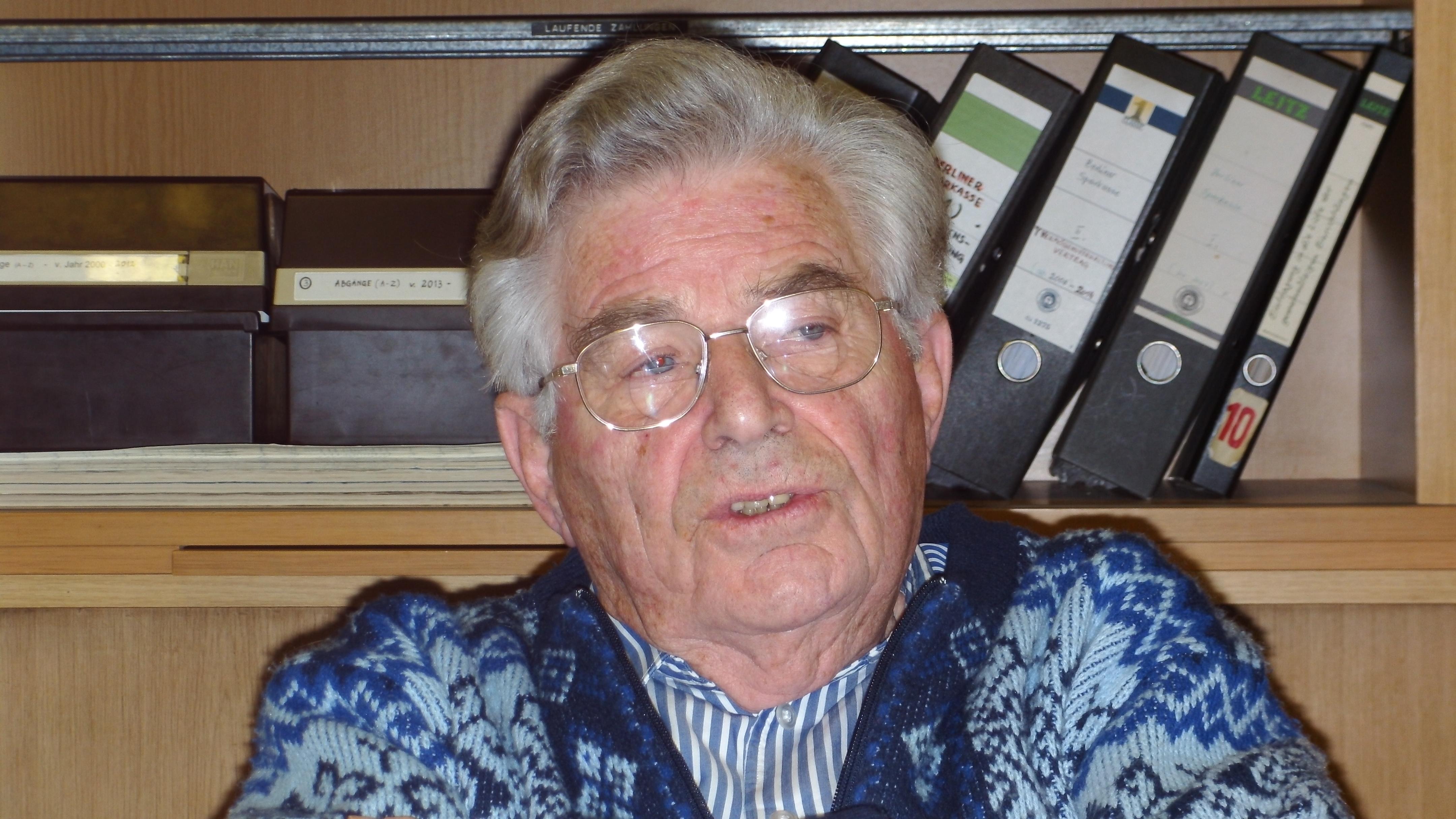 Walter Sylten, Gründungsvorsitzender der DIG Berlin
