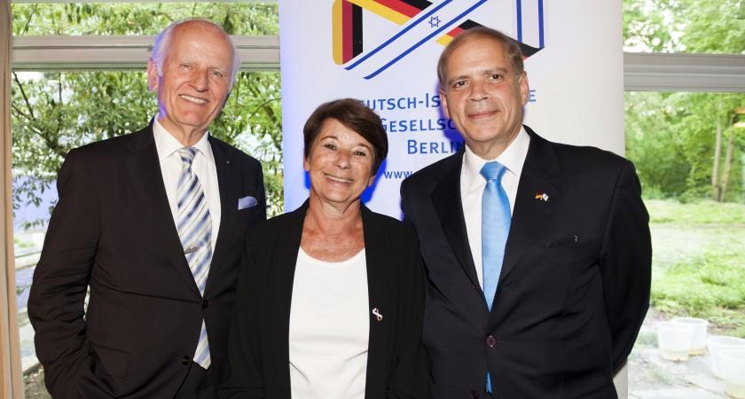 Die Deutsch-Israelische Gesellschaft feiert 50-Jähriges Jubiläum in Berlin
