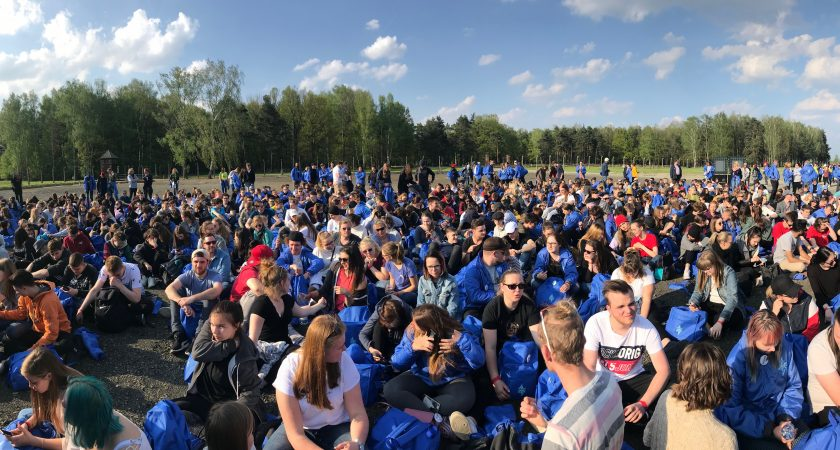 Schüler aus Oranienburg beim March of the Living 2019