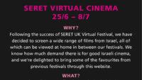 Filmfestival SERET INTERNATIONAL 25.06.-08.07.2020