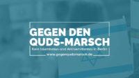Gemeinsamer Aufruf: Kein Quds-Marsch! Gegen die Terror-Propaganda des iranischen Regimes!
