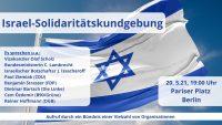 Israel-Solidaritätskundgebung am 20.05.2021