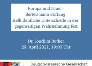 Bericht: Ungleichheit in der Wahrnehmung zwischen Europa und Israel