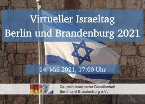 Virtueller Israeltag Berlin und Brandenburg 2021