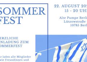 Sommerfest 2021 der DIG Berlin und Brandenburg