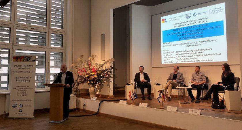 DIG Berlin und Brandenburg e.V. arbeitet mit Israel-Woche gegen Fake-News und Hass